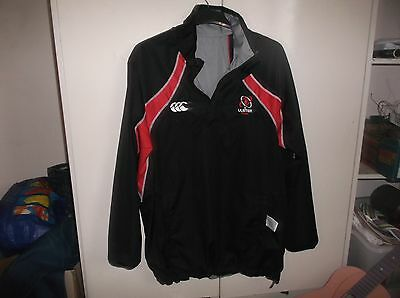ulster ireland football rugby shirt jersey coat size small mens