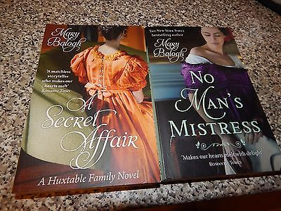 2  Fantastic Sizzling  Historical Romances By Mary Balogh