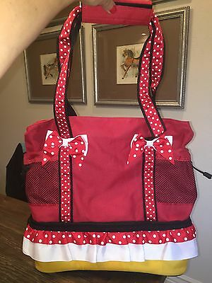 Euc Disney World Minnie Mouse Tote Bag