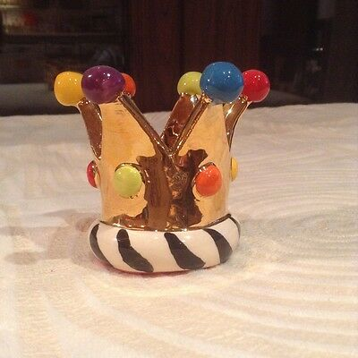 Mary Rose Young Crown Candle Holder