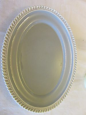 Harker Ware Pottery Chesterton Ware Oval Platter Perfect for the Holidays!