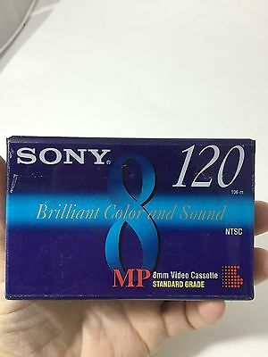 New SONY Video 8  8MM 120 P6-120M 1- Video Cassette SEALED FASTSHIP!