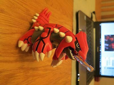 Groudon Pokemon Action Figure Hasbro 2003 - RARE with firing projectile