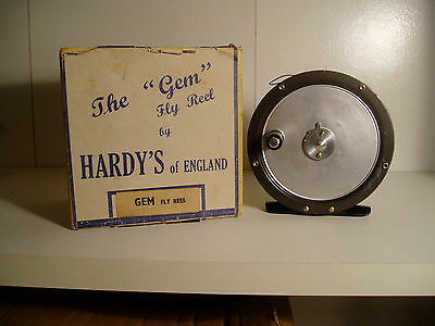 Hardy's 'the Gem' Fly Fishing Reel With Original Box