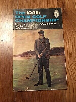 The 100th Open Golf Championship official Programme from 1971