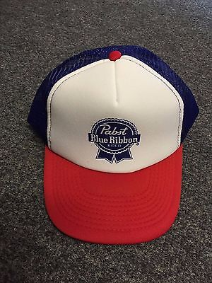 PBR Pabst Blue Ribbon Truckers Cap from USA
