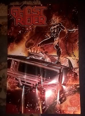 Marvel Ghost Rider  ~ Comic Book Shop : Promo Poster