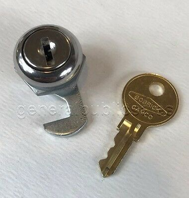 NEW BOBRICK 263-39 REPLACEMENT LOCK & CAT 74 KEY for B-263 PAPER TOWEL DISPENSER