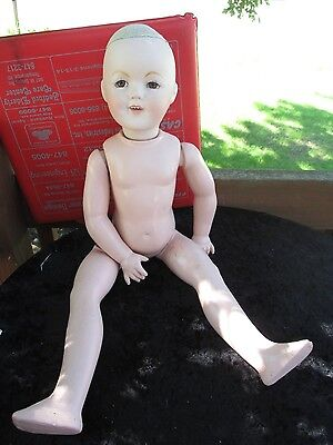 Shirley Temple Dimples Whiton reproduction doll - Tlc for repair/completion  26""