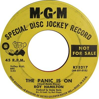 THERE SHE IS / THE PANIC IS ON Roy Hamilton  *NORTHERN SOUL*