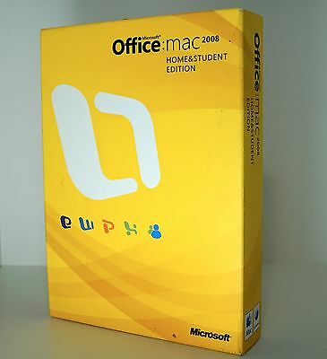 Microsoft Office for Apple Mac Home And Student 2008