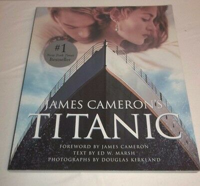 James Cameron's Titanic Glossy Paperback Book Excellent Condition!