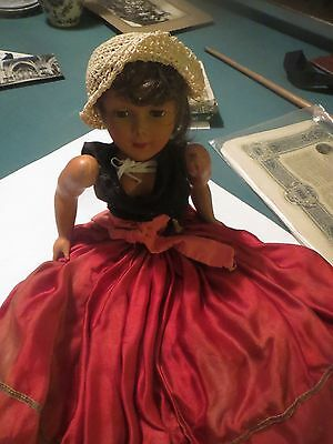 french Celluloid doll ,antique
