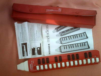 Hohner Melodica Alto With Instructions Very Good Condition