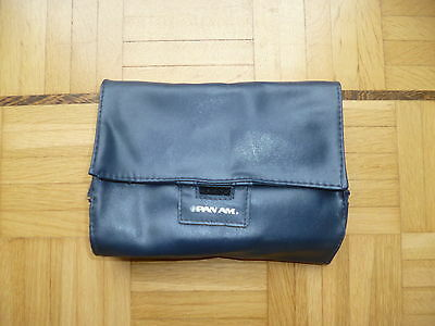 Pan American PAA First Class amenity kit blue artificial leather