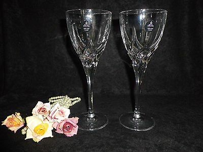 Royal Doulton Crystal White Wine Glasses - New with labels  (B)