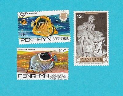 PENRHYN NORTHERN Cook Islands GOOD   USED STAMPS. lot#485