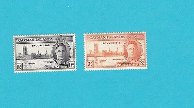 Cayman Islands SC#112-3 GOOD MNH OLD STAMPS. lot#500