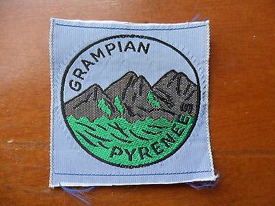 Grampian Pyrenees District Australia  Scout Cloth Badge #