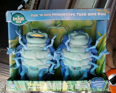 DISNEY'S A BUG'S LIFE - INTERACTIVE TUCK & ROLL FIGURES - Dance & Sing Together