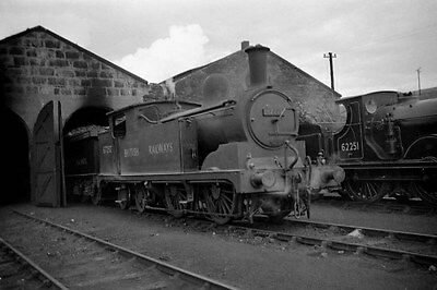 Railway Steam Photo Negative,  Class G5 67293 at Keith  in 1950.