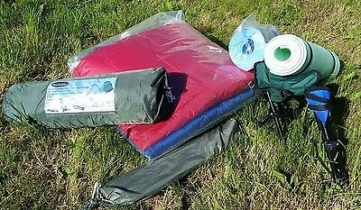2 Man Tent with accessories