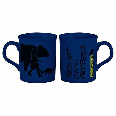 Official Red Hot Chili Peppers - Getaway Silhouettes - Boxed Blue Ceramic Mug
