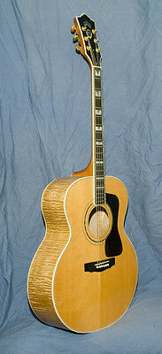 Guild JF65 JF 65 Blonde Acoustic Guitar with Pickup - Great Christmas Present