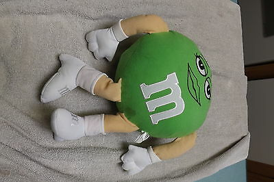 M and M Stuffed Doll, Green