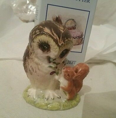 Royal Albert Beatrix Potter - OLD MR BROWN ,Boxed 1989, excellent condition