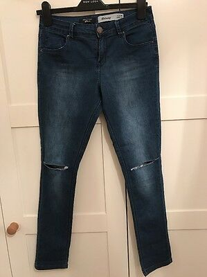 Girls New Look Skinny Jeans Age 14