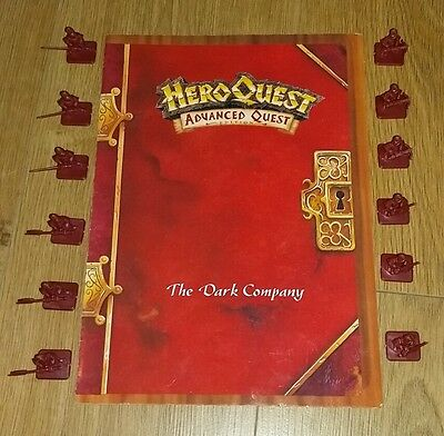 Hero Quest Advanced Quest The Dark Company. Vintage
