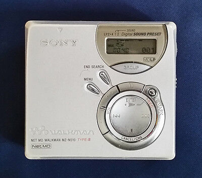 Sony Net MD MZ-N510 Type-S Personal MiniDisc Player Recorder