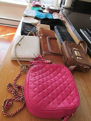 Vintage Lot of 16 Handbags, Mainly Evening Bags, Some Day Time Bags