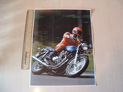 Kawasaki Z650 B2 Action Poster - From 1978 Original