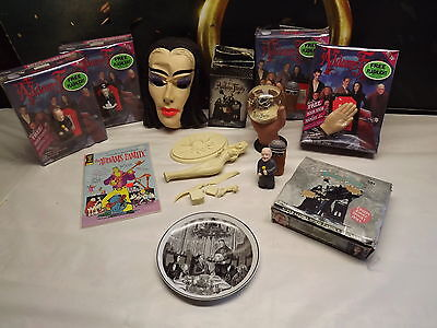 Addams Family Lot ** 60's & 90's Items ***** Must See *** Nice Lot For Gift
