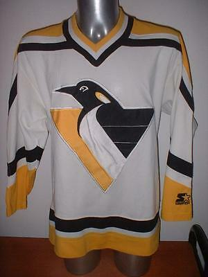 Pittsburgh Penguins Adult Large Starter Ice Hockey Shirt Jersey Vintage NHL Top