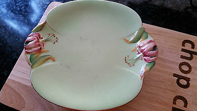 Royal Winton Grimwades Honey Lilly Cake Plate