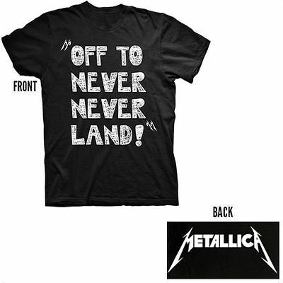 Official Metallica - Off To Neverland - Black Toddler T-Shirt
