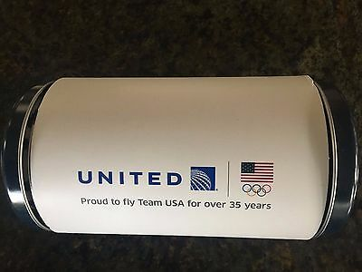 NEW United Airlines Global First Amenity Kit Limited Edition Rio Olympics 2016