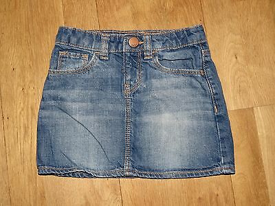 Gap Blue Denim Skirt Age 4