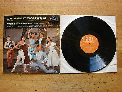 """Le Beau Danube Complete Ballet William Tell Vintage 12"""" Record LXT.5149"""