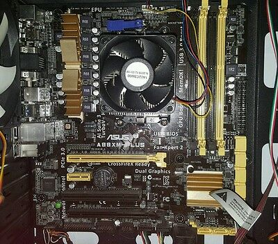 ASUS A88XM-PLUS Motherboard and AMD A8-7670k APU 3.9ghz