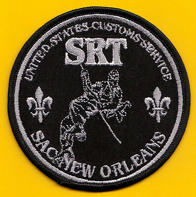 U14 * Old Rare New Orleans Srt Uscs Federal Agency Ice Fbi Swat Police Patch