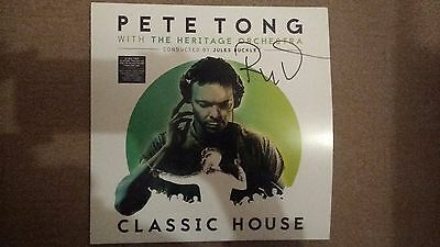 SIGNED Vinyl Pete Tong + Heritage Orchestra Classic House brand new