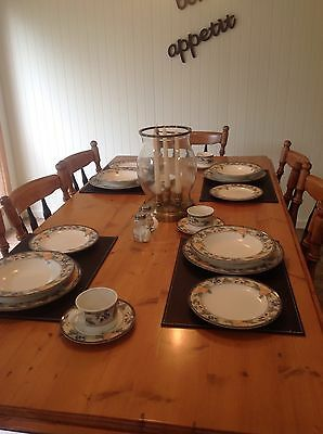 French Provincial Style Dinner Set Mikasa Garden Harvest Shabby Chic  As New