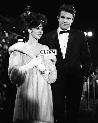 Warren Beatty with Natalie Wood Attend a Party in Los Angeles Photo