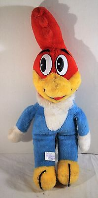 Vintage Woody Woodpecker Plush Doll 1985 Walter Lantz Character Ace Toy