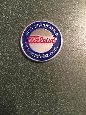 Titleist Golf Ball Marker With Hat Clip