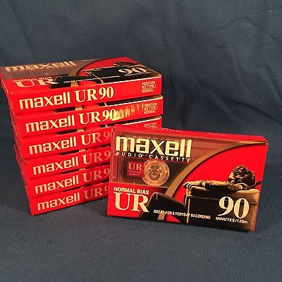 Maxell Normal Bias UR Type I 90 Minutes Blank Audio Cassette Sealed